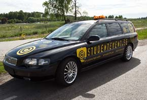 Studentevent bilen